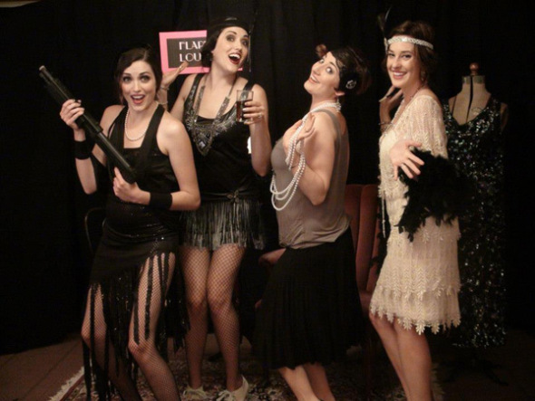 roaring 20s flapper party