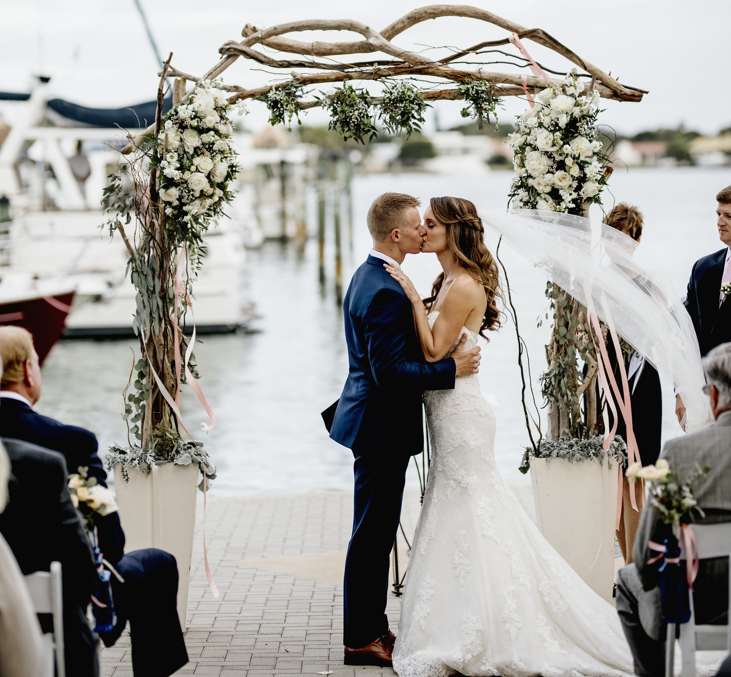 Laura Fletchers Wedding At The Sarasota Yacht Club